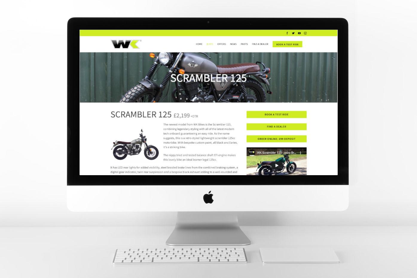 wk bikes national website