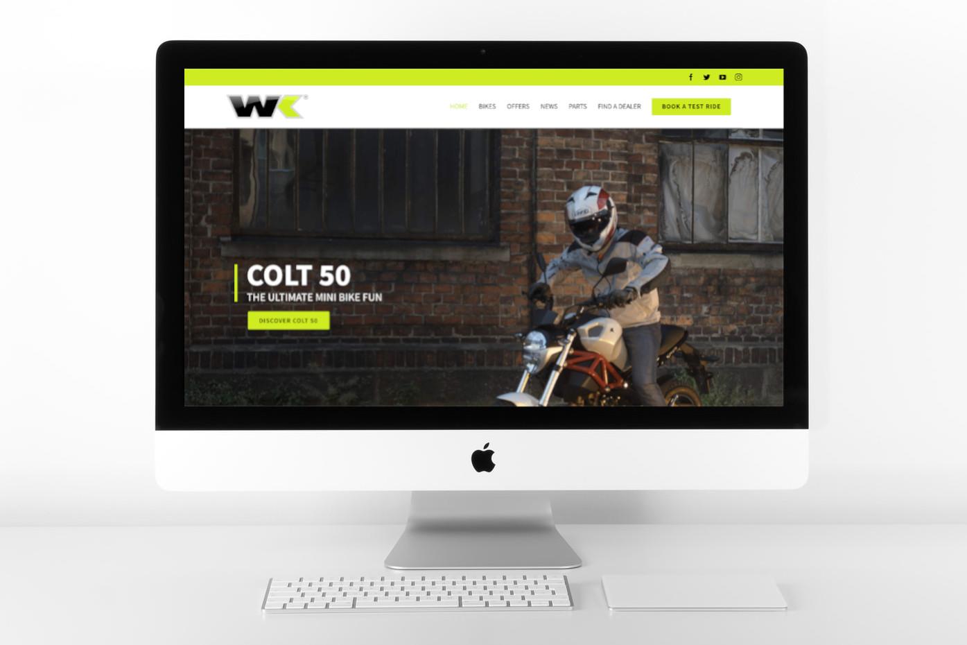wk bikes website