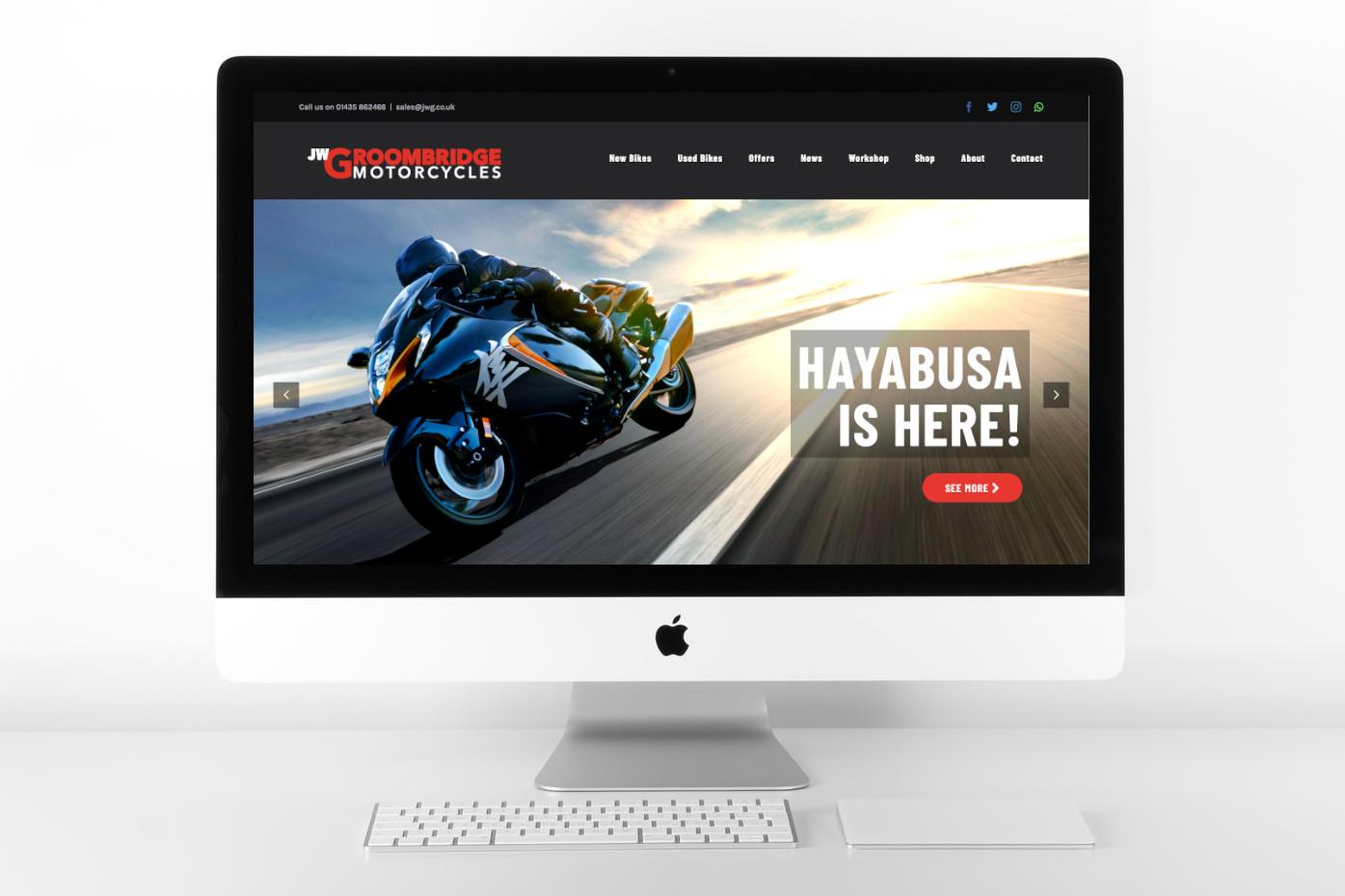 jw groombridge motorcycles website