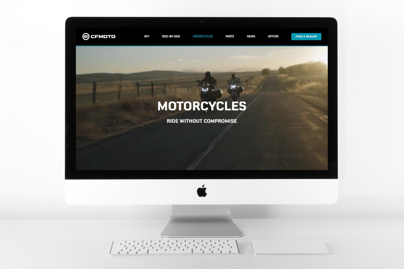 cfmoto website